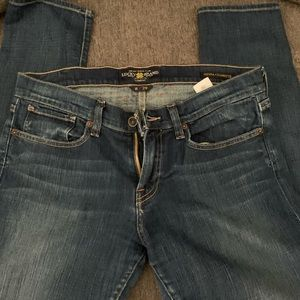 Lucky Brand sienna cigarette boot cut jeans